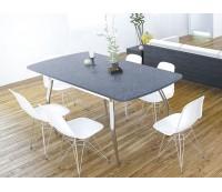 Стол обеденный FLY-1, раздвижной, 100(128)*59